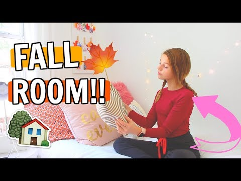 Shopping and Decorating My Fall Room