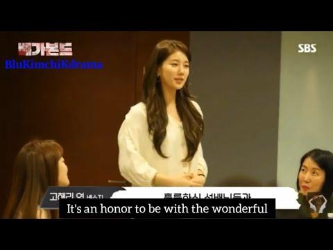 [ENGSUB] Vagabond Kdrama Script Reading Lee Seung Gi Bae Suzy 배가본드