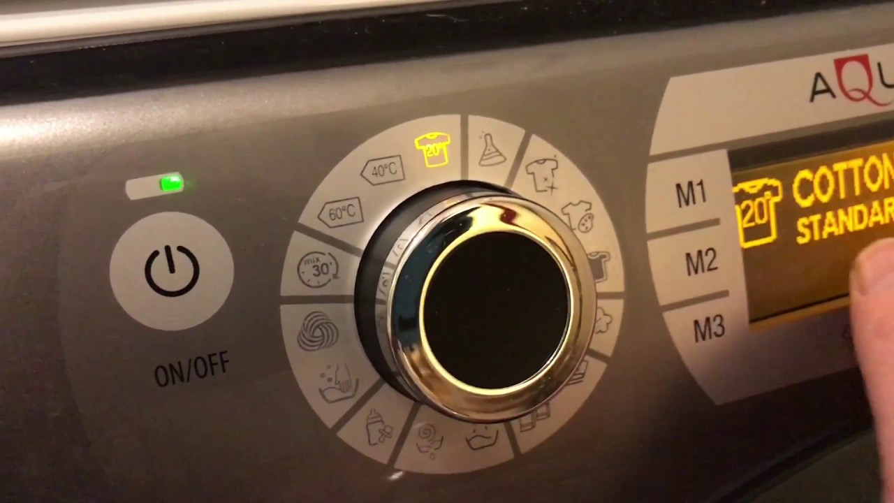 The machine Ariston broke. The display shows F-02. What is it