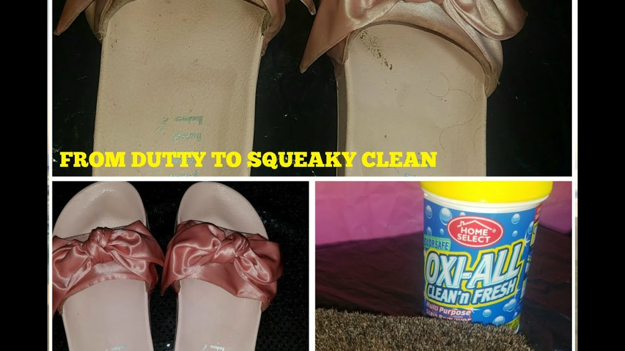 66e38b2c3851 HOW TO CLEAN RIHANNA PUMA BOW SLIDES