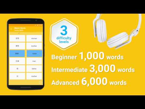 Learn Japanese Vocabulary – 6,000 Words 1