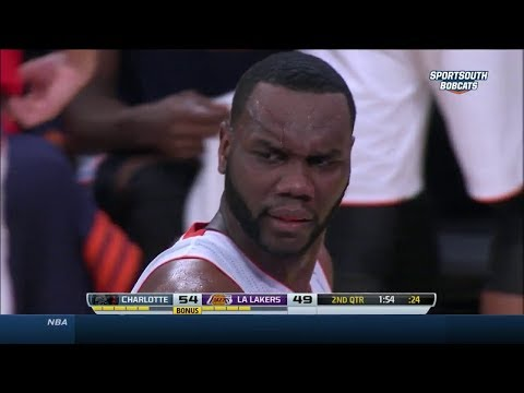 2014.01.31 - Al Jefferson Full Highlights at Lakers - 40 Pts, 18 Reb, SICK!
