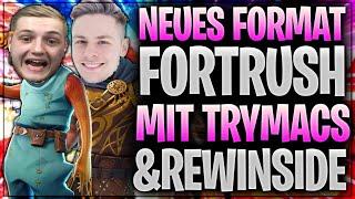 🤣🏗🏃🏼♂️ ABSOLUT GEIL! FORTRUSH mit Rewi & Trymacs | Fortnite