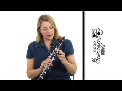 Clarinet Lesson: Clarinet - Notes E, F, G