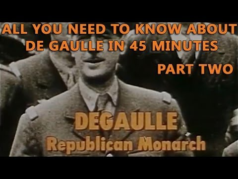 DeGaulle - Republican Monarch