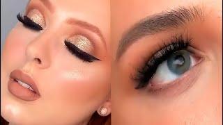 КРАСИВЫЙ ТРЕНДОВЫЙ МАКИЯЖ ИНСТАГРАМ BEAUTIFUL MAKEUP Лучшая подборка макияжа глаз и губ 11