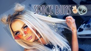 "TUTORIAL | ""SPACE BUNS"""