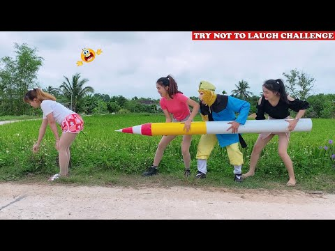 New Top Funny Comedy Video 2020 🤣 😂 Try Not To Laugh - Episode 110 | Cười Bể Bụng