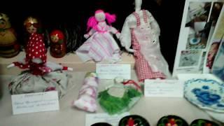 видео Мини-музей «Народные игрушки».