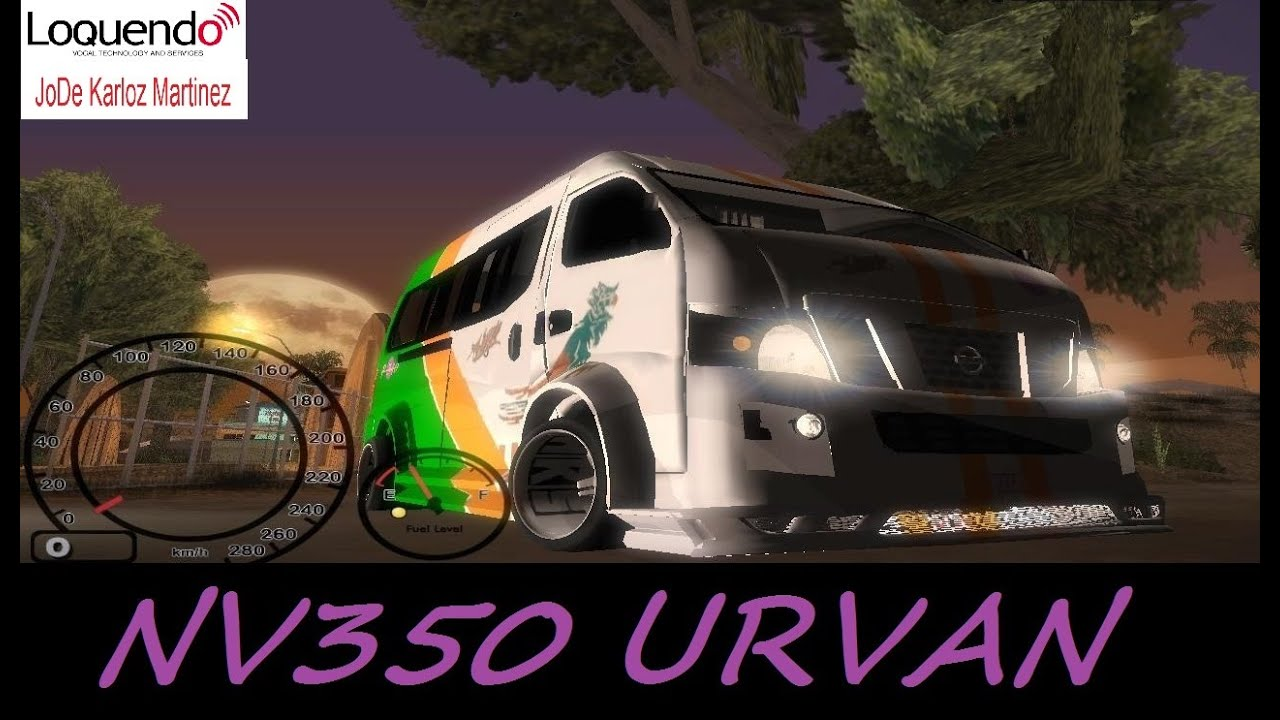 Nissan Nv350 Urvan Tuning Avm Gta San Andreas Loquendo