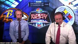 Cris Collinsworth Explains Everything thats Wrong with the NFL (HD) Ravens vs Steelers