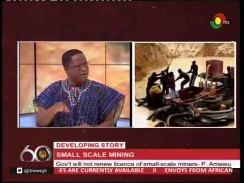 Gov't suspends licence for small-scale miners - 5/4/2017