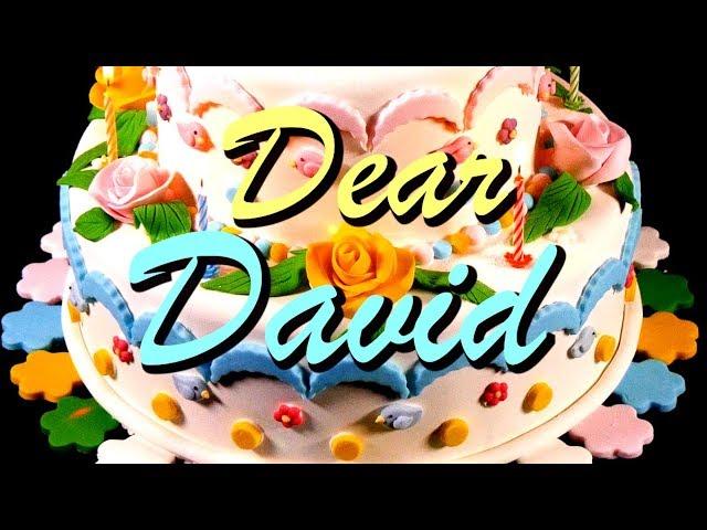 Happy Birthday David Youtube