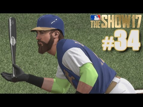 FIRST GAME WITH MY NEW TEAM!   MLB The Show 17   Diamond Dynasty #34