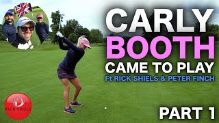 CARLY BOOTH CAME TO PLAY! THE GROVE GC Part 1