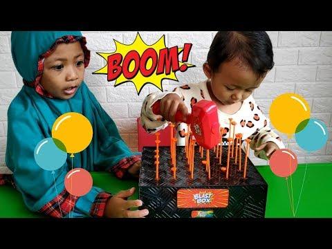 Bermain Blast Box Sambil Belajar Berhitung dan Warna dalam Bahasa Inggris