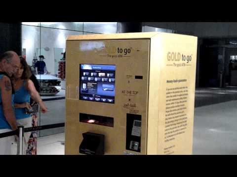 Gold ATM at At The Top Burj Khalifa, Dubai, UAE