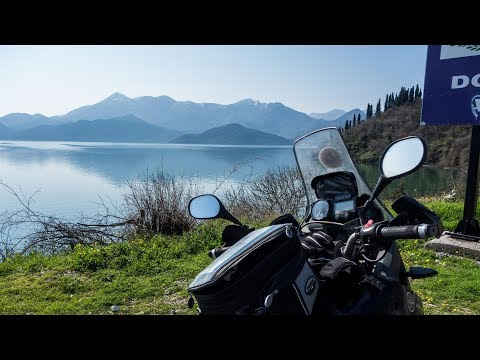 Motorcycle Trip around the Balkans. Perfect riding day in Montenegro - Part 8