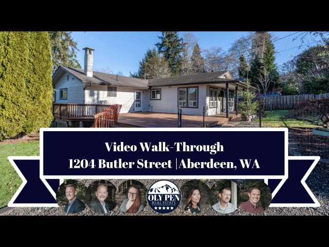 1204 Butler Street | Aberdeen, WA | Video Walk-Through