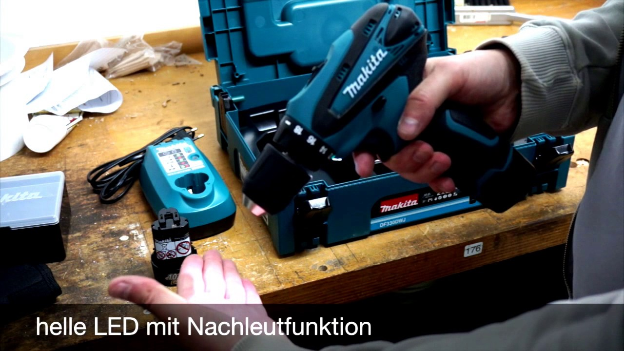 akkuschrauber online kaufen makita akku bohrschrauber df330dwj youtube. Black Bedroom Furniture Sets. Home Design Ideas