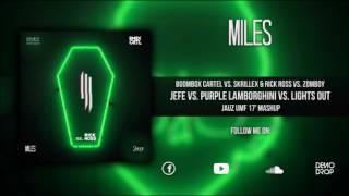 Jefe vs. Purple Lamborghini vs. Lights Out (Jauz UMF 17' Mashup) [Miles & Wisin 'Jasx'  Remake]