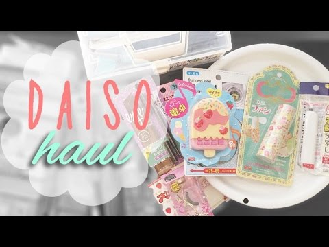 Daiso Haul