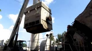 Установка двигателя на дымосос котла ПТВМ-50(, 2011-08-15T16:43:22.000Z)