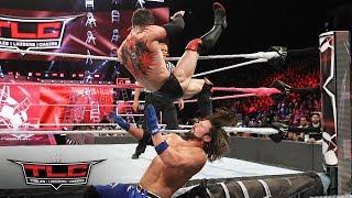 """The Demon"" Finn Bálor unleashes a spectacular offensive display against AJ Styles: WWE TLC 2017"