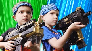 Nerf Battle:  Payback Time Rewind  Twin Toys