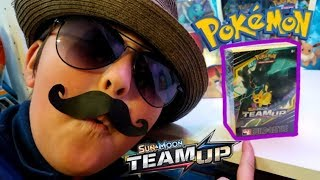 OPENING NEW POKEMON CARDS!! NEWEST TEAM UP SET PRERELEASE BUILD & BATTLE BOX! EARLY UNBOXING!!