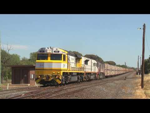 Progress Rail LDP on SCT Freight Train