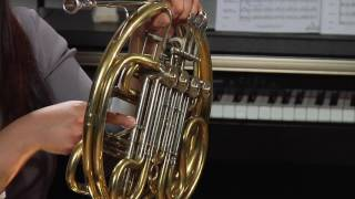 How to Play the French Horn