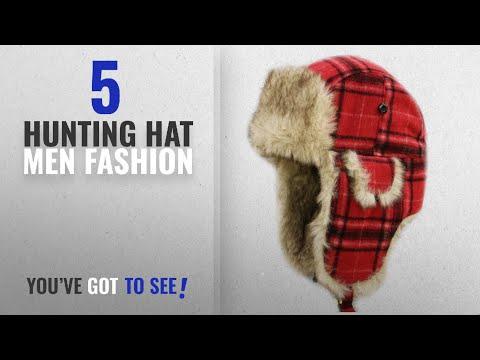 Top 10 Hunting Hat [Men Fashion Winter 2018 ]: City Hunter W680 Wool Premium Solid Trapper Hats