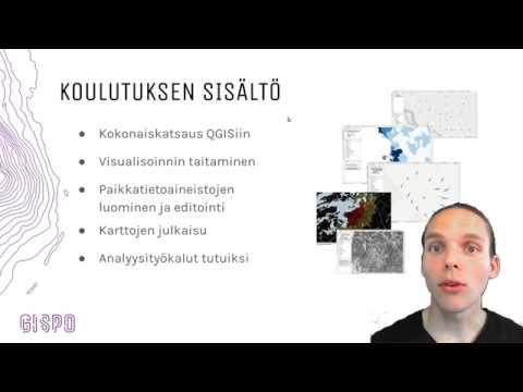 Kurssisisältö: QGIS käyttöön päivässä