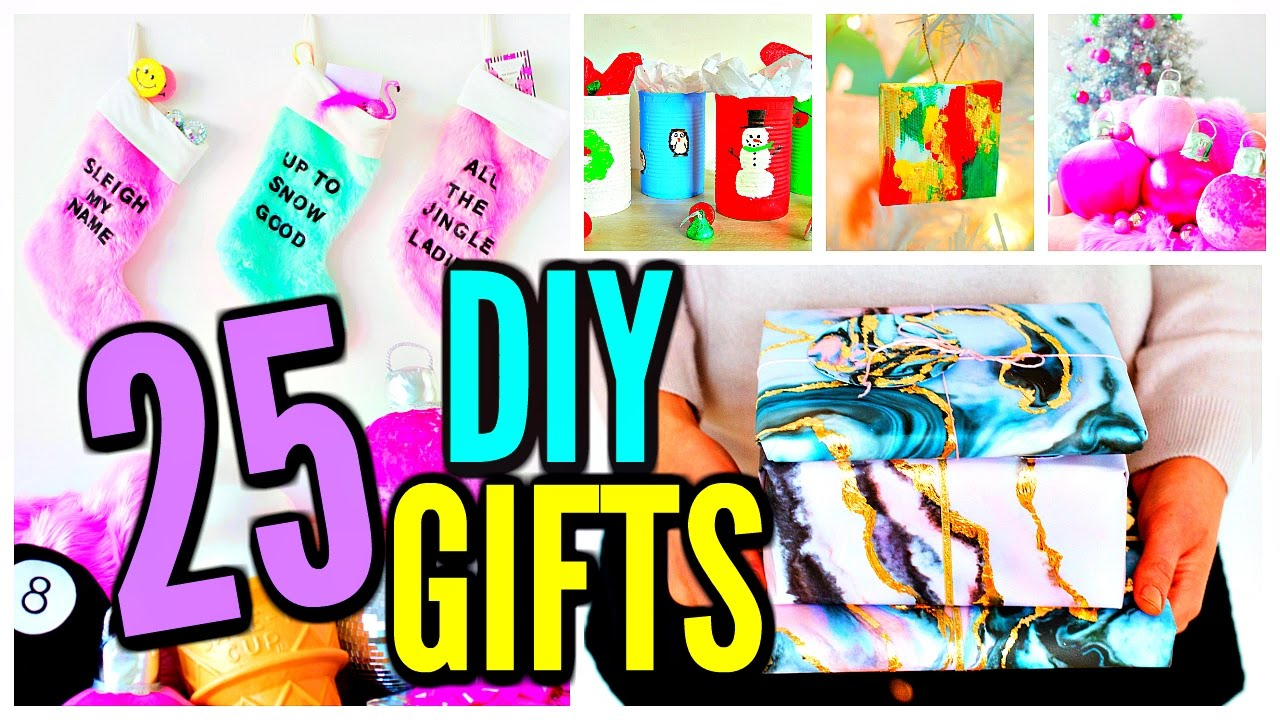 25 diy christmas gifts gift ideas 2016 youtube