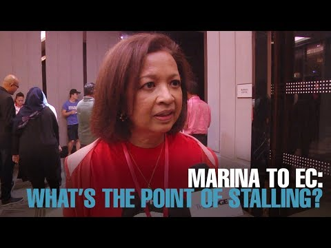 NEWS: Marina to EC: What's the point of stalling?