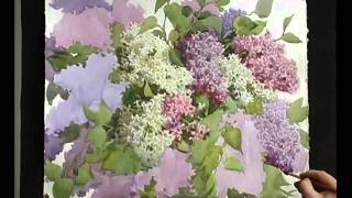 Цветы акварелью_03 - Рисуем Сирень.Акварель (Андрияка С.Н.)