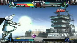 The Break #148 - UMvC3 GF - LB ChrisG VS Captain Crunch
