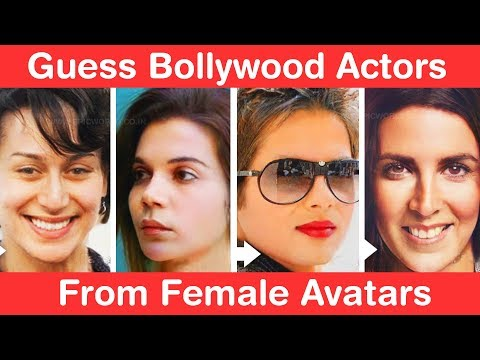 Guess Bollywood Actors from Female Avatars! Ultimate Stree Challenge