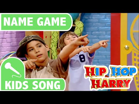 Name Game | Kids Song | From Hip Hop Harry