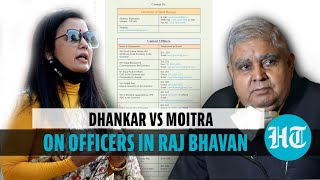 Mahua Moitra Vs Jagdeep Dhankar on 'appointment of kin in Raj Bhavan' charge