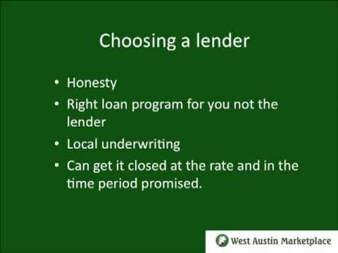Untangling the Mortgage Maze: Financing a Home Purchase in Austin, Texas