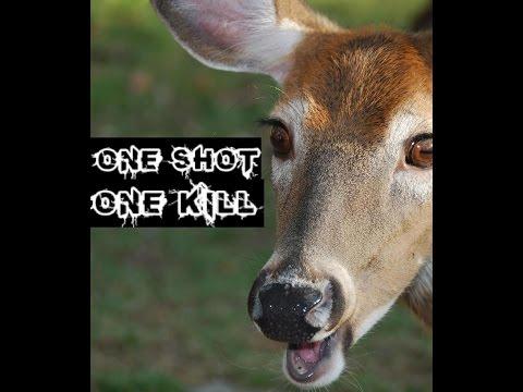 Deer Hunting 2015: SLOW-MO One Shot, One Kill--Successful Hunt
