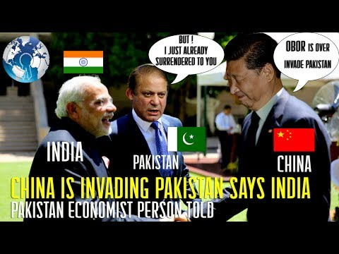 CHINA is Invading PAKistan on CPEC SCO says INDIA