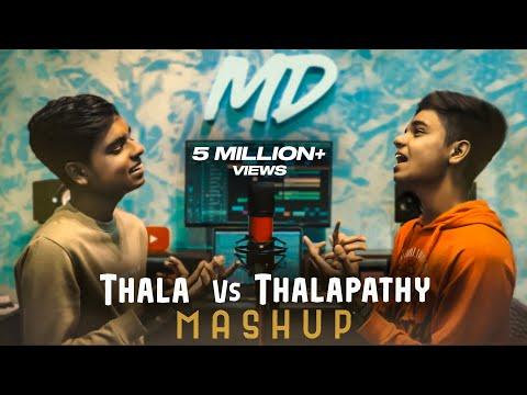 THALA Vs THALAPATHY Mashup 2K19 | MD