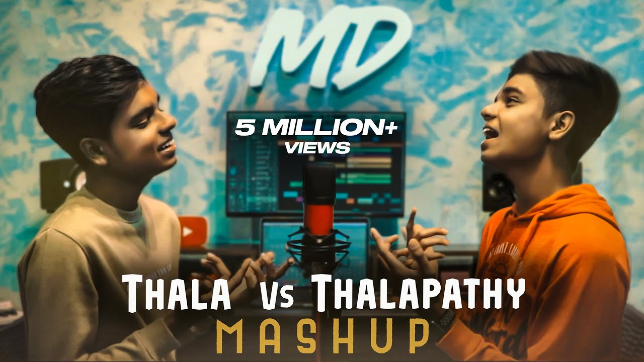 THALA Vs THALAPATHY Mashup 2K19 | MD