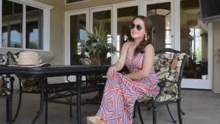 Cute  maxi dress for summer very affordable Thumbnail