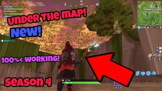 Fortnite Season 4 Glitch (New) Under the map PS4/Xbox one 2018