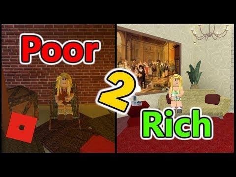 Poor to Rich Part 2   Bloxburg Short Film   Roblox Story