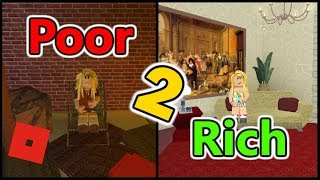 Poor to Rich Part 2 | Bloxburg Short Film | Roblox Story